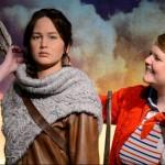 Katniss llega al Madame Tussaud