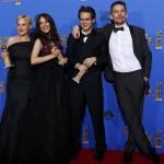 'Boyhood' triunfadora de los Globos de Oro