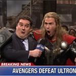 Cuando Thor presentó Saturday Night Live