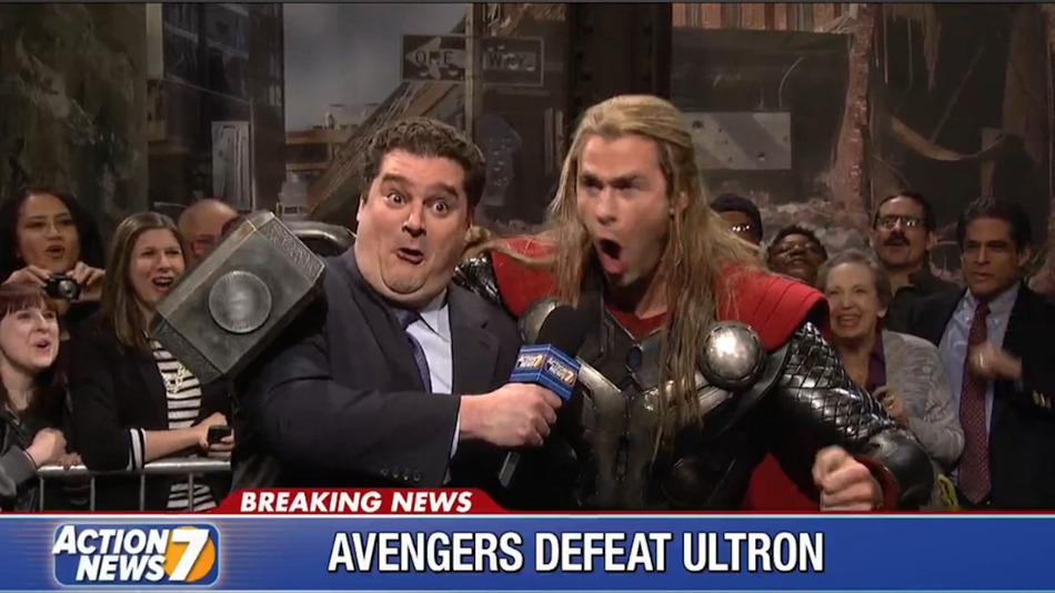 Thor en SNL