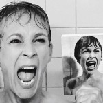 Jamie Lee Curtis recrea la escena de la ducha de 'Psicosis'