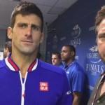 Gerald Butler y su 'Leonidas' inspiran a Djokovic