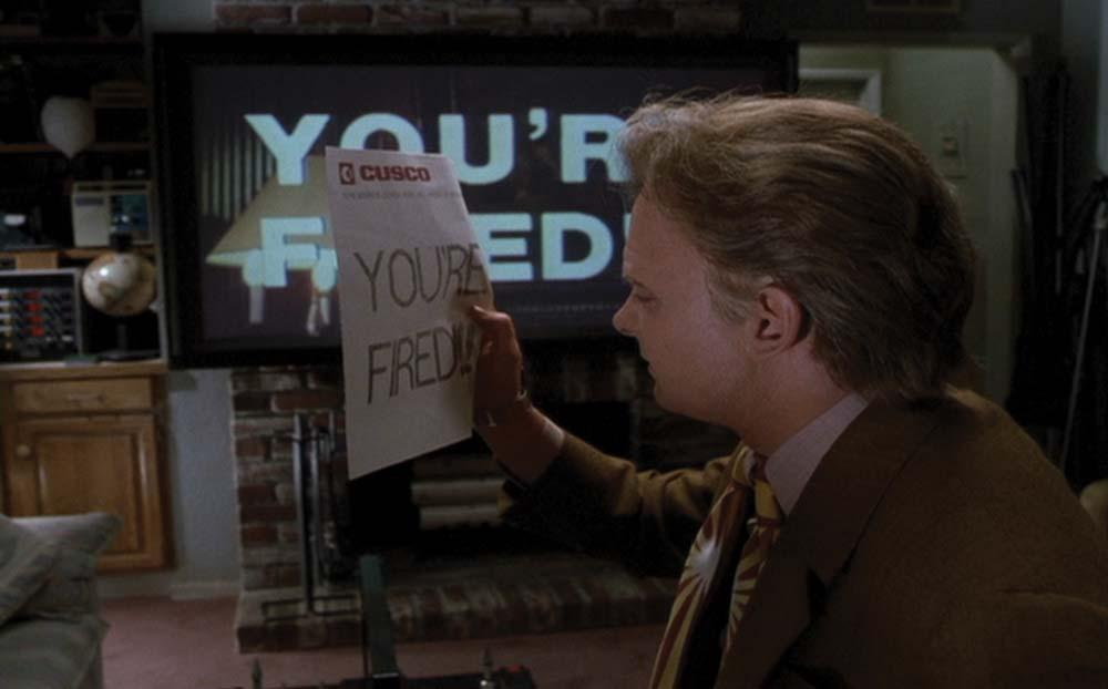 Marty 'Estás despedido'