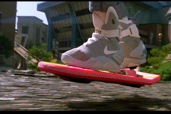 El aeropatín y las Nike de Marty McFly