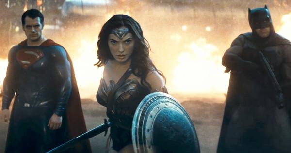 Superman, Wonder Woman & Batman