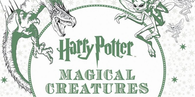 Portada de 'Harry Potter Magical Creatures'