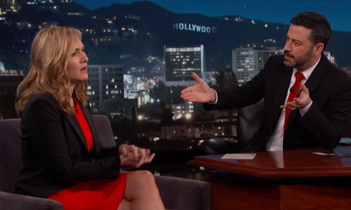 Kate Winslet & Jimmy Kimmel