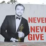 El inspirador mural de Leonardo DiCaprio