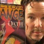 Cuando Benedict Cumberbatch compró cómics del 'Dr. Strange'