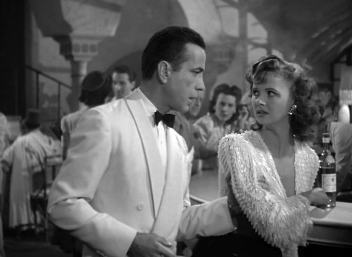 Humphrey Bogart & Madeleine Lebeau
