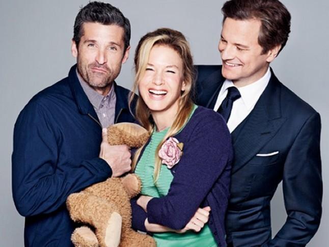 Patrick Dempsey, Renée Zellweger y Colin Firth