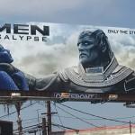 La polémica valla publicitaria de 'X-Men. Apocalipsis'