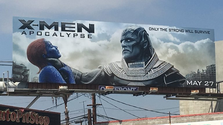 Valla publicitaria 'X-Men. Apocalipsis'