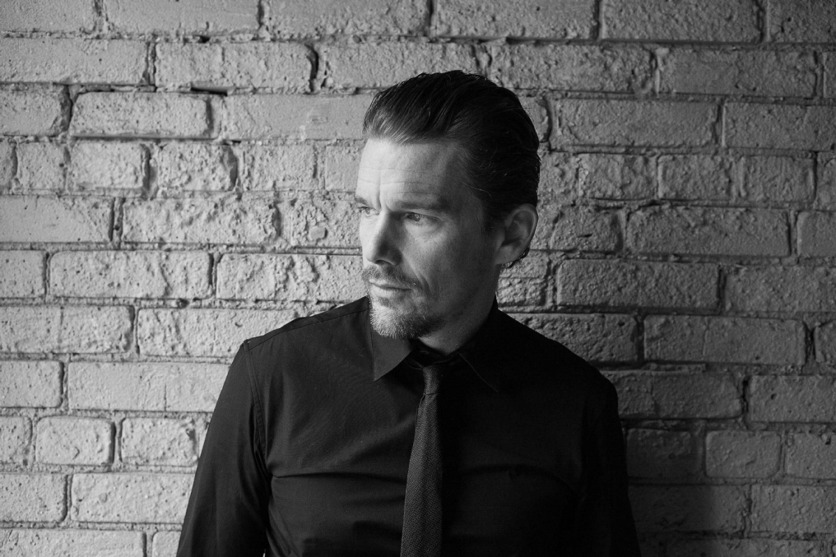 Ethan Hawke is shown in a Toronto hotel room as part of a 23 image portrait series by Canadian Press photographer Chris Young shot during the Toronto International Film Festival on Tuesday, Sept. 9, 2014. THE CANADIAN PRESS/Chris Young