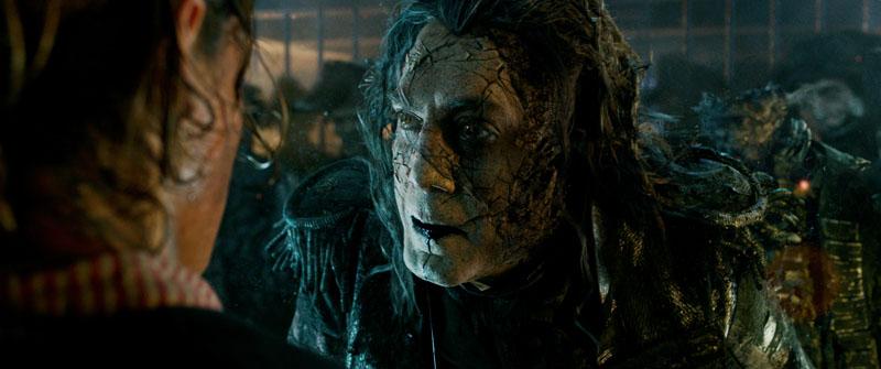 Javier Bardem como el Capitán Salazar
