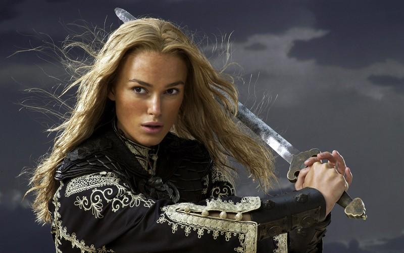 Keira Knightly como Elizabeth Swan