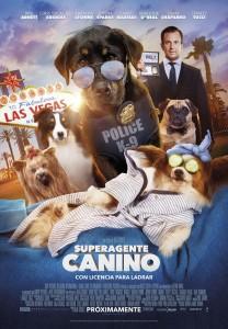 Superagente canino poster