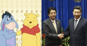 Meme Winnie the Pooh & Xi Jinping