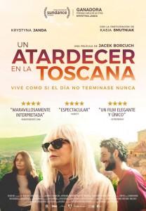 Un atardecer en la Toscana