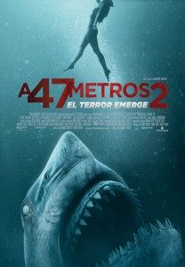 A 47 metros 2. El terror emerge
