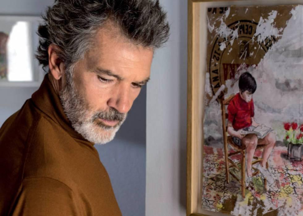 Antonio Baderas en Dolor y Gloria