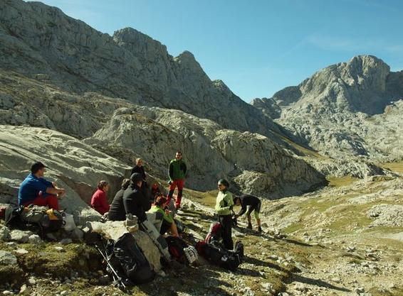 Picos de Europa. Foto: Club Ganguren