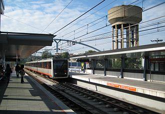 Estación de Metro de Etxebarri. Foto: Wikipedia
