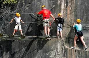 Colonias multi-aventura en Galdakao. Foto: barriourreta.blogspot.com