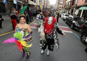 Carnaval de Romo. Imagen de archivo: Ayuntamiento de Getxo