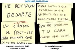 Mensaje post-itivo