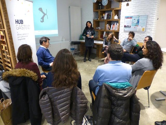 Presentación libro CIE en Vitoria-Gazteiz