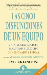 cubierta CINCO DISFUNCIONES DE UN EQUIPO, LAS-3 ed