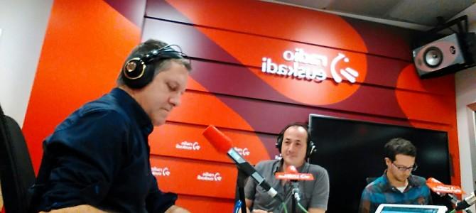 Un día en la radio… y de tapas por Bilbao