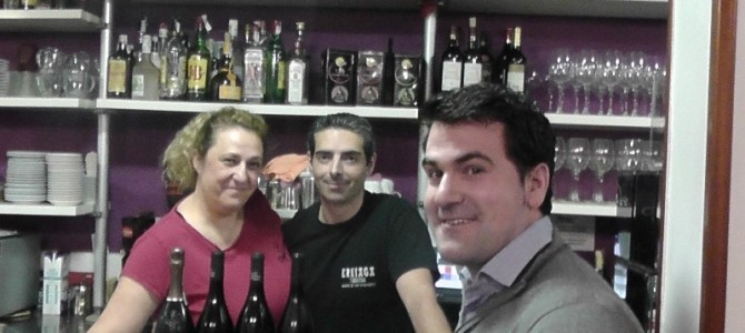 """Cata de vinos variedad """"garnacha"""" en el Erkiaga con cierre """"picante, picante""""…"""
