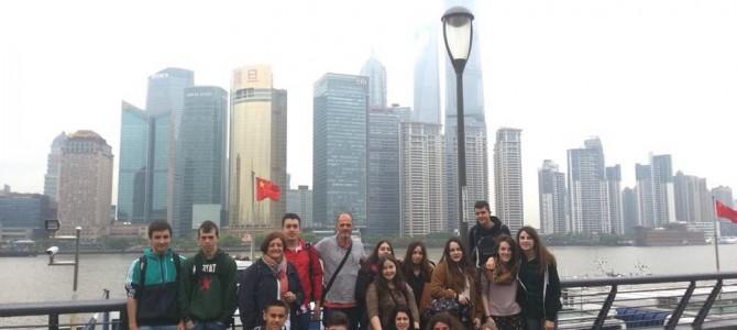 Recuerdos de Shanghay con EGIBIDE y nuestro compañero Hodei Arrausi