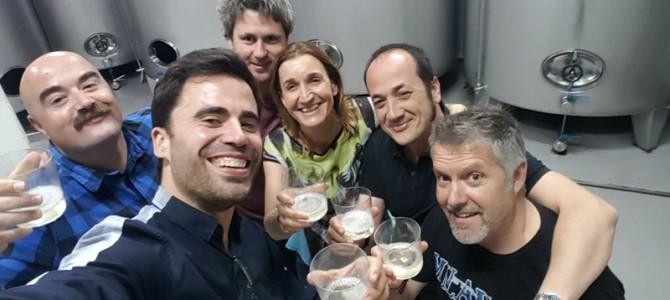 Entre viñedos con Txakoli Gaintza, Estrategia Agroalimentaria y actualidad gastronómica