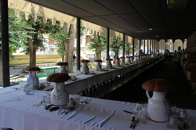 Comida anual de la cofradía de San Roque. Foto de Ramón Martínez Hernández.