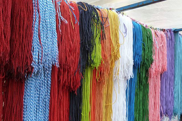 Sinfonía de cordones de San Blas. Foto de Mikel Otxoa.