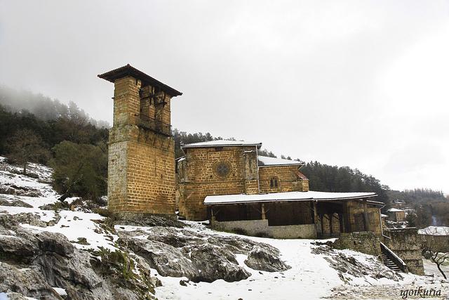El Santuario de Santa Maria del Yermo. Foto: Inocencio Goikuria