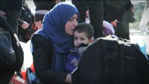 Varios refugiados. Imagen de archivo: EiTB