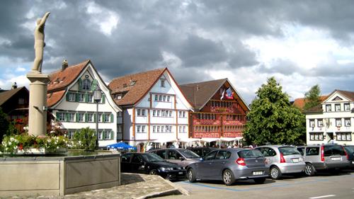Landsgemeinde Platz, Appenzel herrian. Irudia: Juanma Gallego