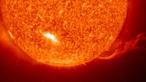 Masa-koroaren eiekzioa. Irudia: NASA