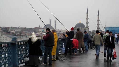 Hamar milioi lagun bizi dira Istanbulen. Irudia: Juanma Gallego