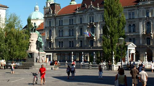 Ljubljana, Esloveniako hiriburua. Irudia: Juanma Gallego