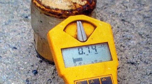 Aiaran azaldutako uranioa. Irudia: Industria Saila / Juanma Gallego