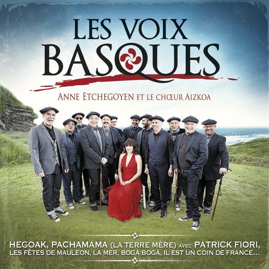 Portada del disco 'Les Voix Basques'