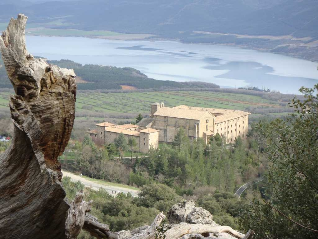 Monasterio de Leire. Foto: Maite Gorrochategui