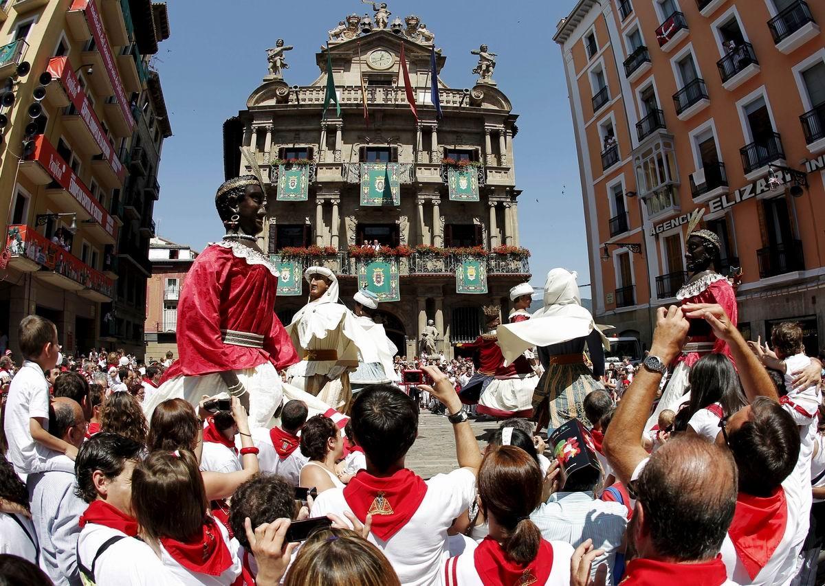 Fiestas de San Fermín. Foto: EFE