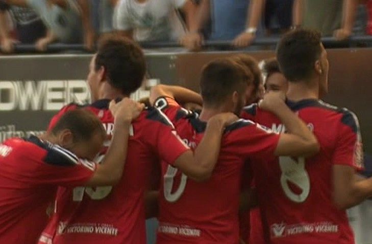 El equipo Osasuna. Foto: eitb.eus