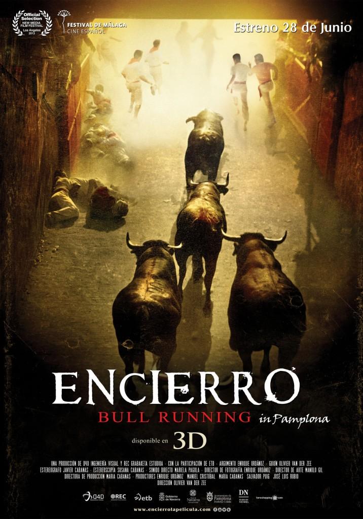 'Encierro', cartel de la película.